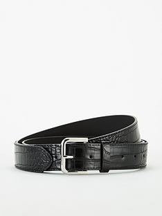 michelle-keegan-studded-croc-belt-black