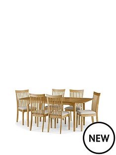 julian-bowen-ibsen-150-190-cm-extending-dining-table-6-chairs