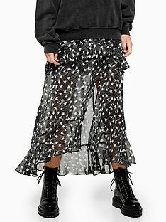 topshop-topshop-star-ruffle-maxi-skirt-black