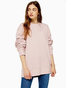 topshop-topshop-boyfriend-jersey-sweater-pink