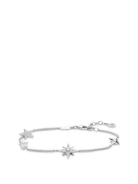 thomas-sabo-silver-fine-star-bracelet