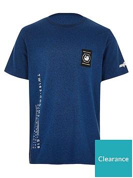 river-island-boys-active-printed-t-shirt-blue