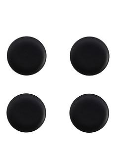 maxwell-williams-maxwell-amp-williams-caviar-black-15-cm-coupe-plates-ndash-set-of-4