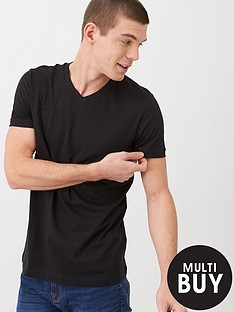 v-by-very-essentials-v-neck-t-shirt-black