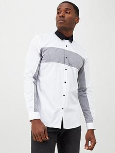 river-island-white-chevron-block-print-slim-fit-shirt
