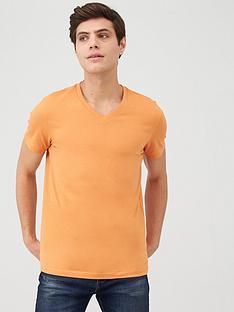 v-by-very-v-neck-t-shirt-orange