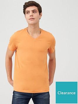 very-man-v-neck-t-shirt-orange