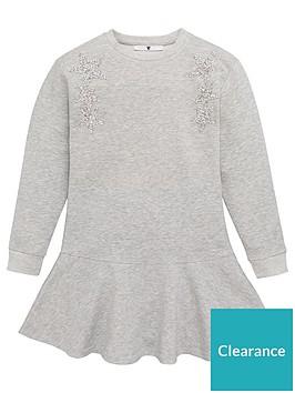 v-by-very-girls-glitter-star-peplum-sweatshirt-dress-grey