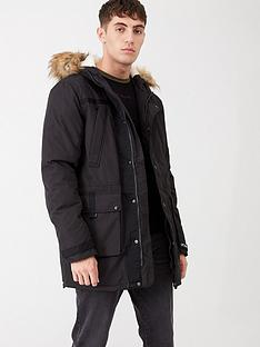 river-island-black-parka