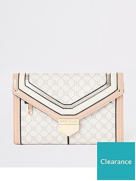 river-island-river-island-monogram-travel-wallet-light-pink