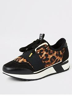 river-island-river-island-lace-up-runner-trainer-black