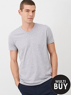v-by-very-essentials-v-neck-t-shirt-grey