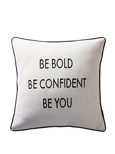 karen-millen-be-bold-slogan-cushion