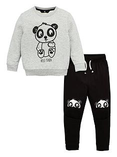 v-by-very-boys-panda-knee-detail-tracksuit-grey