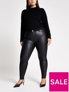 ri-plus-ri-plus-molly-mid-rise-coated-front-jegging-black