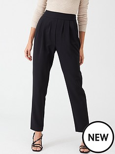 v-by-very-pleated-front-tailored-trouser-black