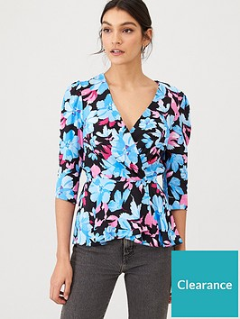 v-by-very-printed-fixed-wrap-top-floral