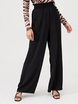 v-by-very-elasticated-waist-wide-leg-trousers-black