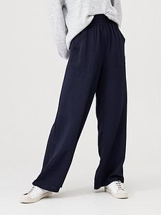 v-by-very-elasticated-waist-wide-leg-trousers-navy