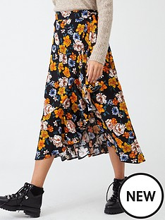 v-by-very-printed-wrap-midi-skirt-floral