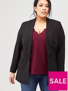 v-by-very-curve-edge-to-edge-blazer-black