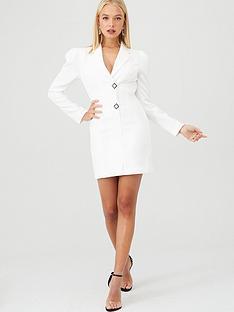 river-island-blazer-tux-dress--white