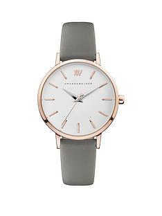 amanda-walker-amanda-walker-kate-silver-and-rose-gold-detail-dial-grey-leather-strap-ladies-watch