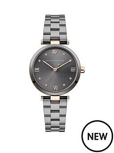 amanda-walker-amanda-walker-eva-grey-sunray-and-rose-gold-detail-dial-gunmetal-grey-stainless-steel-bracelet-ladies-watch