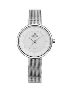 obaku-obaku-lys-silver-stepped-solar-dial-stainless-steel-mash-strap-ladies-watch