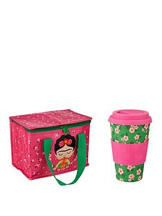 sass-belle-frida-kahlo-lunch-bag-and-bamboo-coffee-cup