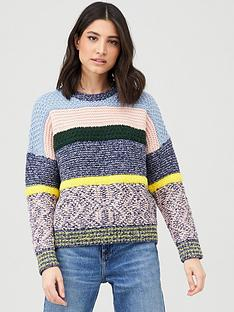 v-by-very-multi-yarn-striped-jumper-multi