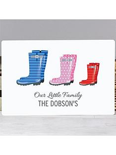 personalised-family-wellies-framed-print