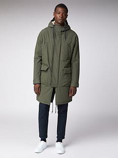 ben-sherman-fishtail-parka-dark-green