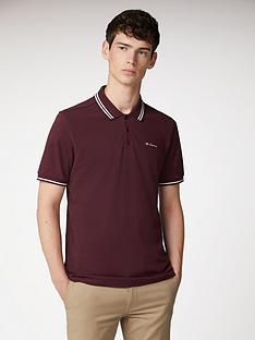 ben-sherman-classic-tipped-polo-wine