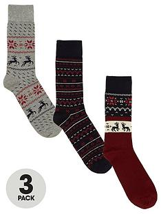 v-by-very-pack-of-three-christmas-patterned-socks-multiple-colours