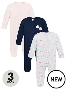 v-by-very-baby-girls-3-pack-cosmic-sleepsuits-multi