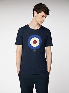 ben-sherman-target-t-shirt-dark-navy