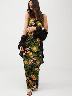 v-by-very-channel-waist-jerseynbspmaxi-dress-tropical-print