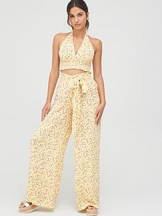 v-by-very-crinkle-crop-co-ord-beach-top-yellow