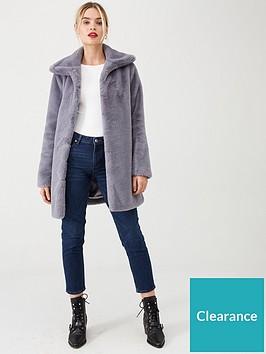 wallis-harley-plush-faux-fur-coat-grey