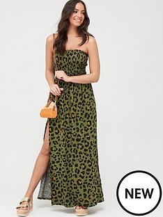v-by-very-bandeau-maxi-beach-dress-print