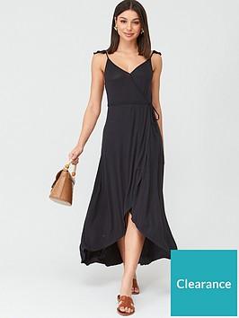 v-by-very-dipped-hem-wrap-jerseynbspdress-black