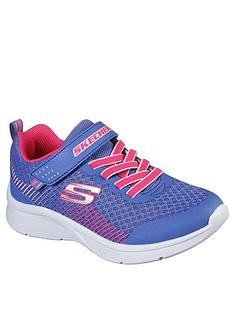 skechers-girls-microspec-trainers-blue