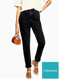 topshop-tall-clean-mom-jeans-washed-black