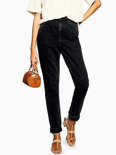 topshop-topshop-tall-clean-mom-jeans-washed-black
