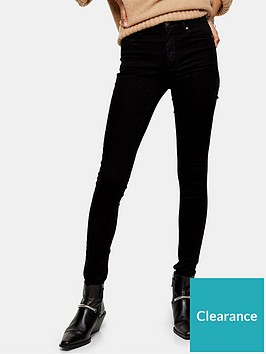 topshop-topshop-tall-leigh-jeans-black