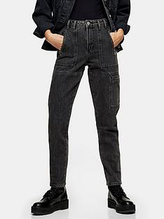 topshop-utility-mom-jeans-washed-black