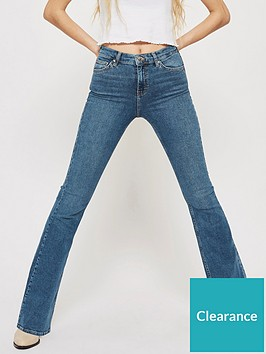 topshop-topshop-jamie-flared-jeans-mid-blue