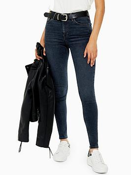 topshop-topshop-tall-clean-jamie-jeans-blue-black