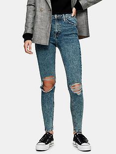 topshop-topshopnbspjamie-acid-wash-rip-jeans--indigo